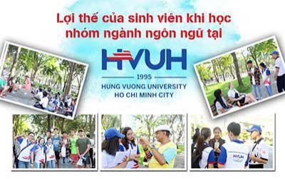 Lợi thế của sinh viên khi học nhóm ngành ngôn ngữ tại HVUH