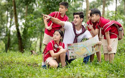 Trại hè - giải pháp toàn vẹn cho trẻ vừa học vừa chơi