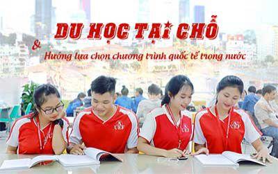 Du học tại chỗ và hướng lựa chọn chương trình quốc tế trong nước