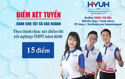 Năm 2020, HVUH xét tuyển điểm thi tốt nghiệp THPT: 15 điểm