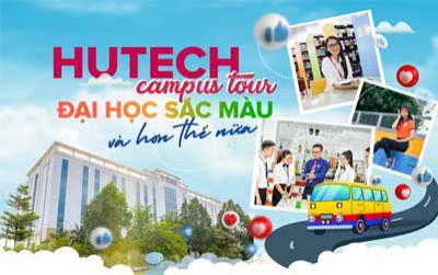 HUTECH Campus Tour - Đại học sắc màu và hơn thế nữa