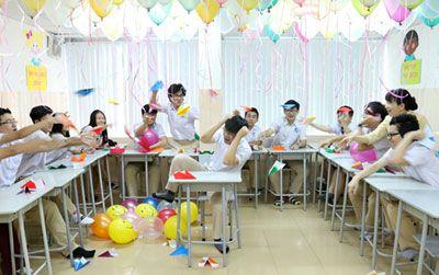 Bộ ảnh kỷ yếu của học sinh Trường Quốc tế Á Châu