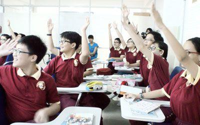 Ngôi trường quốc tế có nhiều học sinh giỏi cấp Thành phố