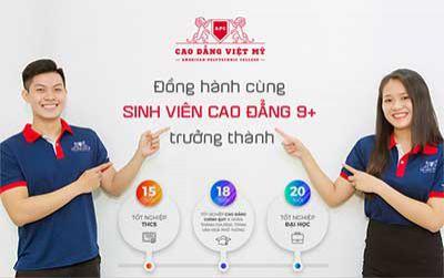 Cao đẳng Việt Mỹ đồng hành cùng sinh viên Cao đẳng 9+ trưởng thành