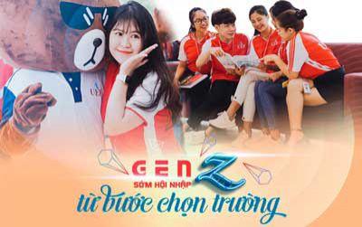 Gen Z sớm hội nhập từ bước chọn trường