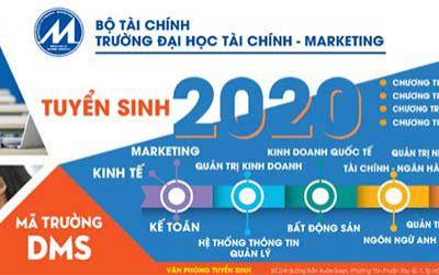 Trường ĐH Tài chính - Marketing: Tuyển 4.500 chỉ tiêu theo 5 phương thức