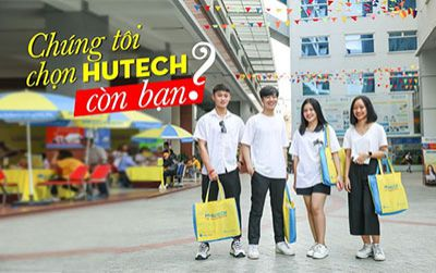 HUTECH - trường đại học đa trải nghiệm cho sinh viên năng động