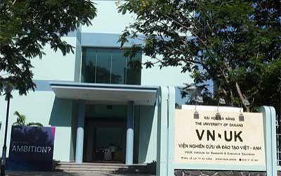Viện Nghiên cứu & Đào tạo Việt - Anh (ĐH Đà Nẵng): Tuyển sinh bằng bài luận cá nhân và phỏng vấn