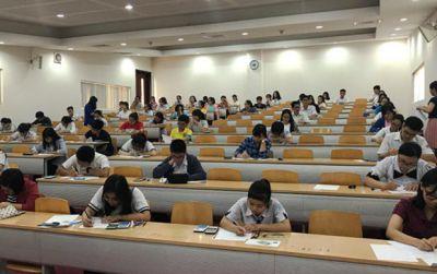 1.974 thí sinh thi kiểm tra năng lực của ĐH Quốc tế